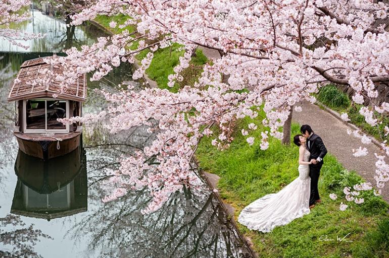 京都櫻花婚紗