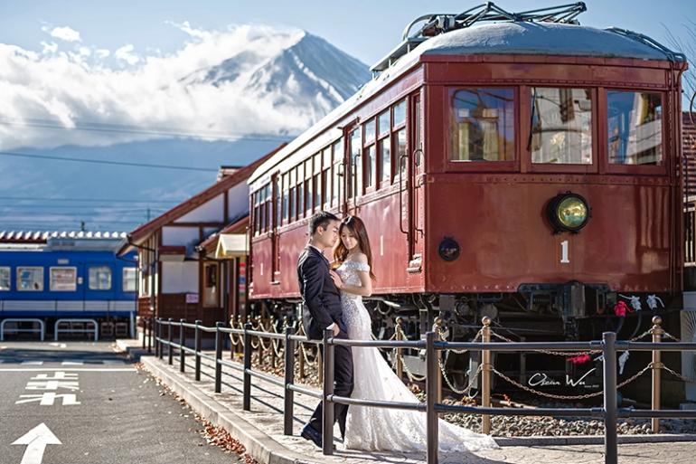 富士山婚紗
