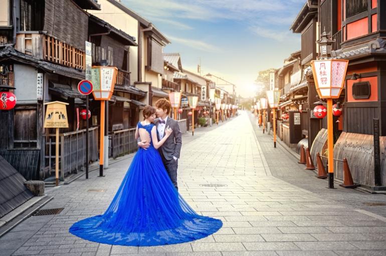 日本婚紗 櫻花婚紗