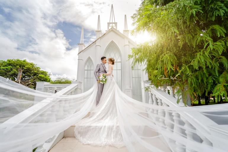 淡水莊園婚紗
