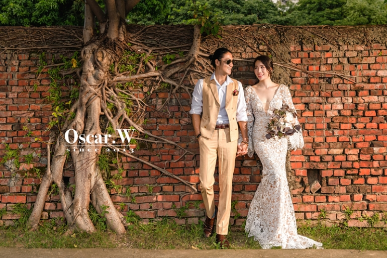 華山婚紗 , 台北婚紗 , 逆光婚紗